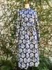 イギリス シャツワンピース ドレス ワンピース ブルー