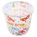 """プリムのポップコーンカップ/Plastic Popcorn Box """"Happy Purim"""" 14*12 cm"""
