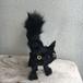 Surprised cat BK (S) ビックリ猫 受注制作 (猫ぬいぐるみ)