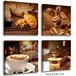 USA Kitchen Canvas Art Coffee  4枚セット