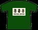 【Online Store限定カラー】「WALTZING MATILDA」Tシャツ - アイビーグリーン