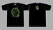 蛙スプーン キャラTシャツ BLACK / DRY