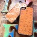 SMILE Leather iPhone Half CASE (SE用)