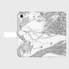 手帳型スマホケース iPhone8:kazue.M_006(伯(はく))