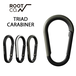 ROOT CO. GRAVITY TRIAD CARABINER