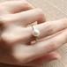 Akoya Cultured Pearl Ring -White / Hanadama-