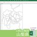 山梨県のOffice地図【自動色塗り機能付き】