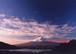 天(縁起の良い奇跡の開運写真 天に愛される霊峰富士山の写真です)