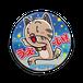 <缶バッチ 76mm>うえ~いみーちゃん