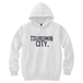 TSUBOMIN / TSUBOMIN CITY HOODED SWEATSHIRT WHITE