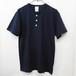 【Kamakura Rhythm】オリジナルヘンリーネックTシャツ [ネイビー]