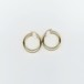 【14K-2-5】14K gold big hoop earring