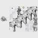 iphone5/5s/SE 今城塚 形象埴輪(灰)スマホケース