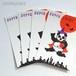 ポストカード セット:PANDA HALLOWEEN