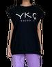 【YKG】CANOTTA タンクトップ【ブラック】【新作】イタリアンウェア《M&W》