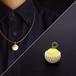 贈答用なネックレス【kanomi/かのみ】#手染め #れもん #3dプリントアクセサリー