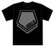 ペンタゴンTシャツ【ブラック/Sサイズのみ】