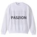 [PASSION] ホワイト グランド スウェットシャツ-