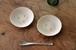 渡り鳥のフリル皿2枚セット(陶器)