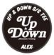 """ UP & DOWN (Mountain Cruising) "" S/S TEE"