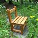 昭和学童椅子/古色(子供椅子/完成品)