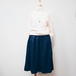 *wide trousers* navy