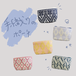 手織りのポーチ small(マチあり)