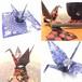 東洋紡STC オリエステル折り紙®︎(漆器、切子、陶磁器、千鳥模様)