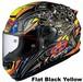 OGK RT-33 AKIYOSHI Flat black yellow