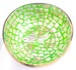 インテリアのアクセントに!天然素材使用のココナツボウル(緑・金魚)
