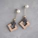pierced earrings C-P17/earrings C-E17<gold>
