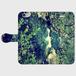 ぺりま002 河と森 かわいいおしゃれ手帳型スマホケース