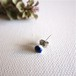 jujumade Blue Dot Earring