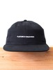 FUJITOSKATEBOARDING Cap  Black (Name ver.)