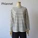 Phlannel sol/フランネル・washi cotton basque shirt
