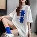 【tops】元気いっぱい大人可愛い カジュアルTシャツ3色合わせやすい