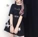 ゴスロリ系 ワンピース CREZY GIRL バタフライ バックリボン 病みかわいい  原宿系 韓国 オルチャン 10代 20代