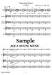 Amazing Grace/賛美歌【アカペラ楽譜+練習用音源♪セット販売】