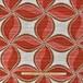 織柄カーテン(横106×縦122)