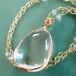 〈女神巻き®〉大きなまあるい水晶のネックレス