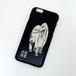 iPhone 6 ケース 日本の名画 俵屋宗達 白象図 ブラックアルマイト