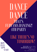 That's Fujiyama Dancing!! 4th Party チケット(中高生) 2019年10月19日(土)