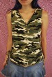camouflage camisole