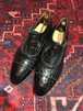 .Oriental CROCODILE LEATHER EMBOSSED MONK STRAP SHOES MADE IN JAPAN/オリエンタルクロコ型押しレザーモンクストラップシューズ 2000000042312