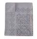 一点もの カンタ刺繍 (インド ラリーキルト)薄手コットン×シースルー オーガンジー カットワーク ベッドカバー
