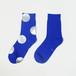 METAL SOX (4.5DOT) BLUE X SILVER