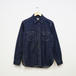 WORK SHIRT WITH ELBOW PATCH (DENIM)