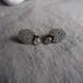 Gray Onyx Beads Earrings