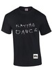 ROUGH TEXT T-Shirts BLACK