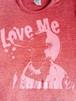 『Love Me』 Tシャツ レッド×ピンク【枚数限定】